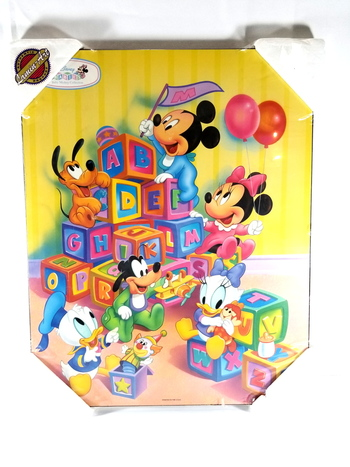 Disney Baby Collection Plaque By Lamin-Art