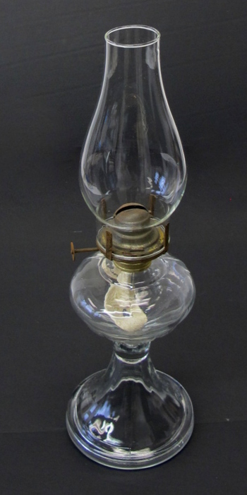 Vintage Oil Lamp and Chimney 1930's