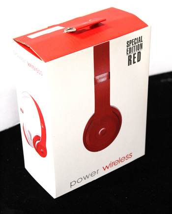 POWER WIRELESS - On Ear Headphones - RED