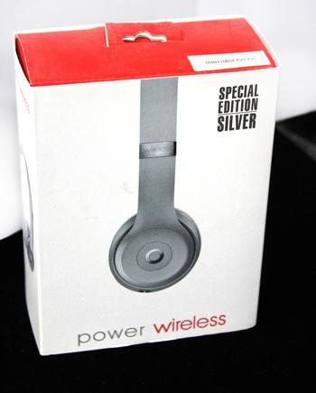POWER WIRELESS - On Ear Headphones - Silver