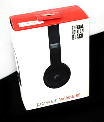 POWER WIRELESS - On Ear Headphones - Black