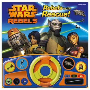 Star Wars Rebels Rebels to the Rescue Interactive Book
