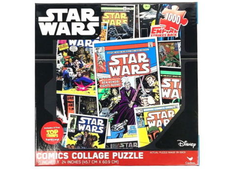 Disney Star Wars Disney Comics Collage Jigsaw Puzzle 18 x 24 in 1000pc New