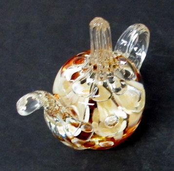 Vintage Joe St. Clair Art Glass Ring Holder/Paper Weight