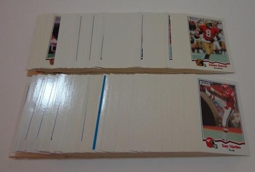 1994 Jogo '94 CFL Football Near Card Set 329 of 330 Cards