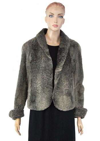 Vintage Women's Persian Lamb Jacket - Size M