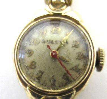 Vintage Bulova Gold Filled Wind Up Watch