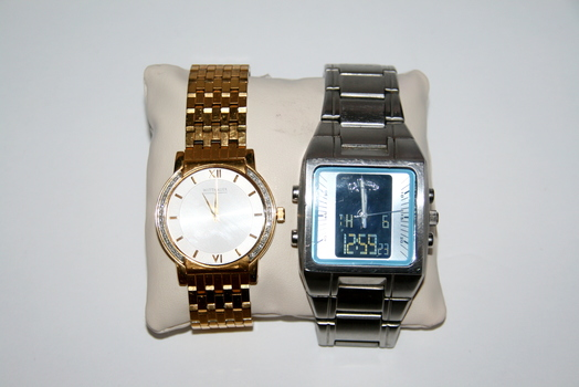 Two Authentic Men's Watches Wittnauer & Callaway Retail $750.00