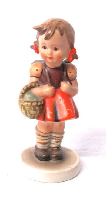 "Hummel by W. Goebel Figurine ""School Girl""- Circa 1980's"
