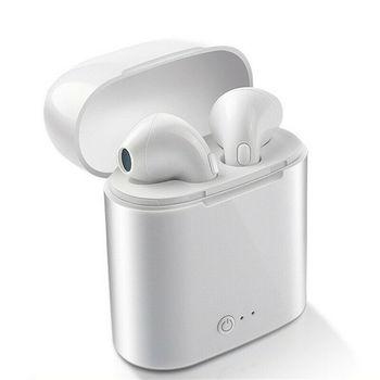 NEW I7s Wireless Earpiece Bluetooth Earphones ISport Earbuds iPhone Xiaomi Samsung