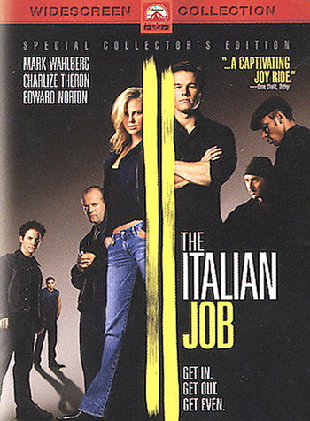 The Italian Job (DVD, 2003, Widescreen)
