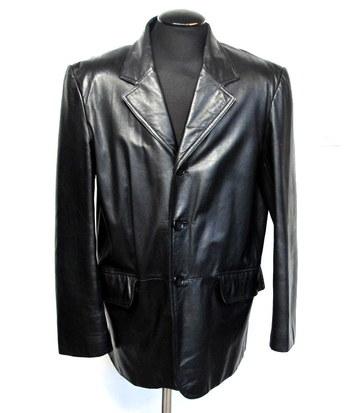 Danier Men's Leather Jacket/Blazer-Size Large