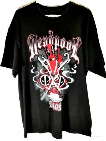 Marvel Deadpool Mens T Shirt XL