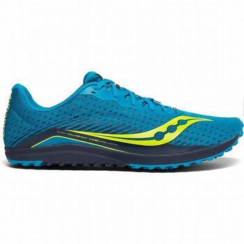 SAUCONY XCA (REMOVABLE) SPIKE SHOES - SIZE 5.5