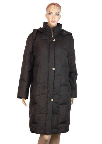 "Women's Designer ""Made in Paris""  Full Length Down Filled Winter Coat - Size 42EU - Size 42 (S/M)"