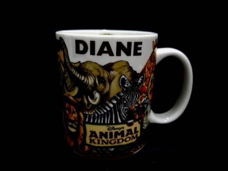 Disney Parks Animal Kingdom Ceramic Coffee Mug - Diane