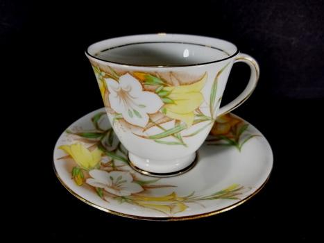 Bell English VTG Bone China Tea Cup and Saucer