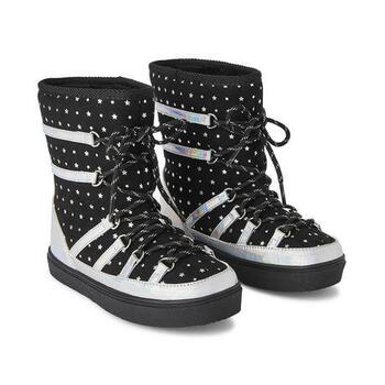 New With Tags George Girls' Lunar Winter Boots Black Size 4