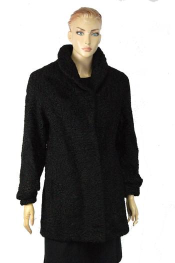 Women's Designer Persian Lamb Coat - Size M - $999.00 Cold Storage Value