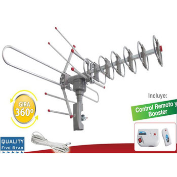 HD TV Outdoor 150 Mile Amplified Antenna