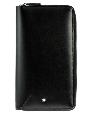 Montblanc Meisterstuck Black Soft Grain 13cc Travel Wallet