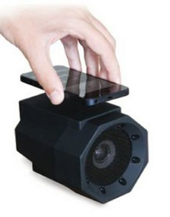 Thumbs Up Touch Speaker Boombox Black