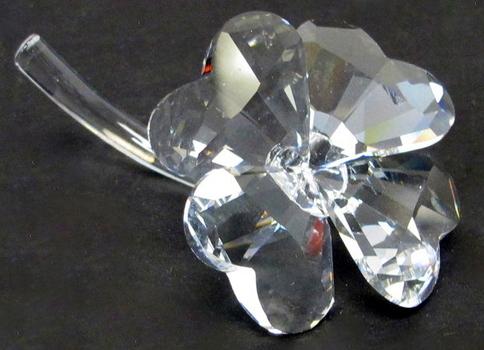 Swarovski Crystal Four Leaf Clover Figurine