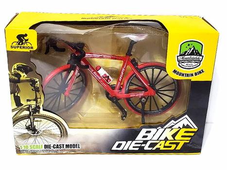 Mountain Bike Die Cast Model 1:10 Red