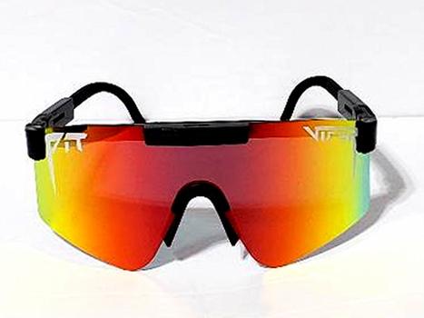 Pit Viper Oversized Windproof Sport Polarized Sunglasses