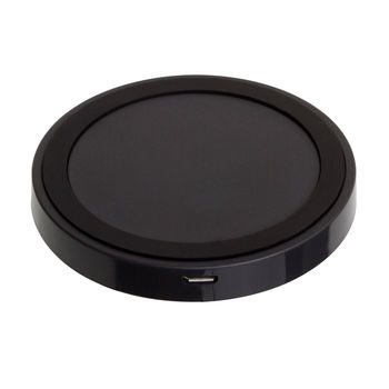 QI Wireless Charging Charger Pad For iPhone Samsung Galaxy S5 LG Nexus Nokia - Black NEW