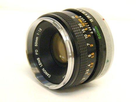 Canon Chrome FD 50mm f1.8 Lens