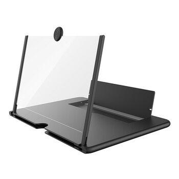 "10"" 3D Mobile Phone Screen Magnifier Black"