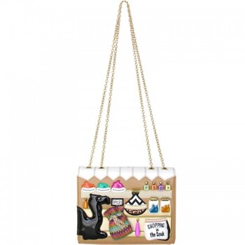 Braccialini Cartoline Shoulder Bag Retail $217.00