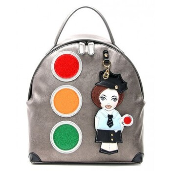 BRACCIALINI Back Pack Shoulder Bag Italy Retail $398.00