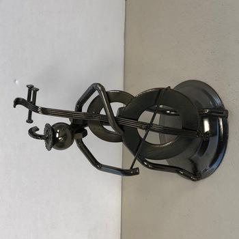 Hybrid Scrap Welded Metal Sculpture