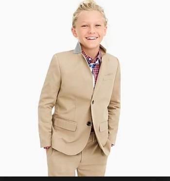 Daniel Hechter PARIS Boys 2 Piece Suit Sz 14R x 27 Retail $179.00