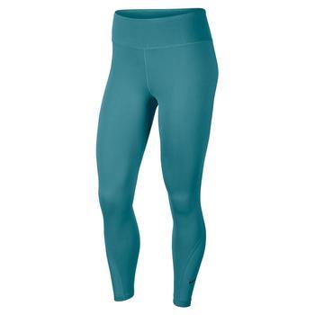 Ladies Nike High Rise Leggings Teal Size XL
