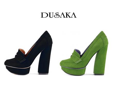 2 Pairs- Dusaka Women's Shoes - Sz 6 1/2 - Combined Retail $140.00