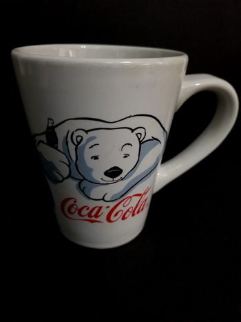 Coca Cola Polar Bear Ceramic Coffee Mug