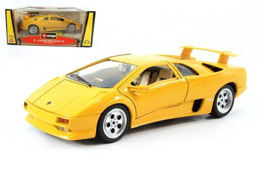 Burago Collectible Die Cast Metal Car Model 1986 Lamborghini Diablo