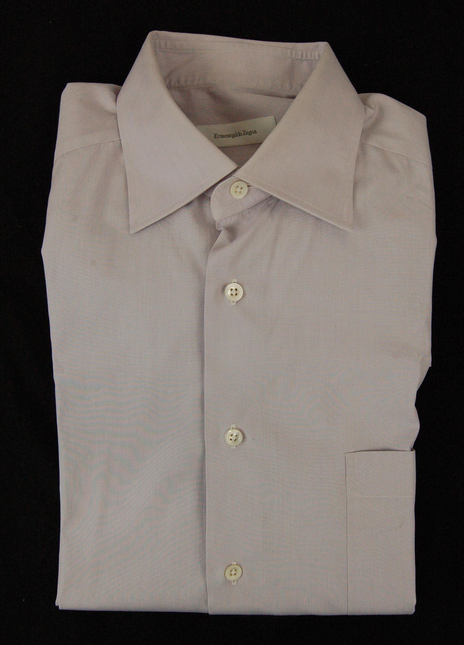 Mens Ermenegildo Zegna Dress Shirt Size 16 41 L Property Room