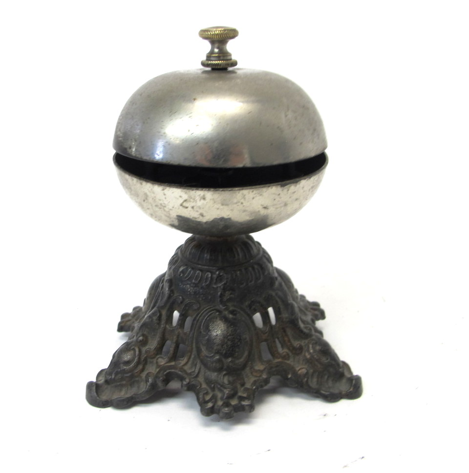 Antique Hotel Desk Bell Circa 1910 S