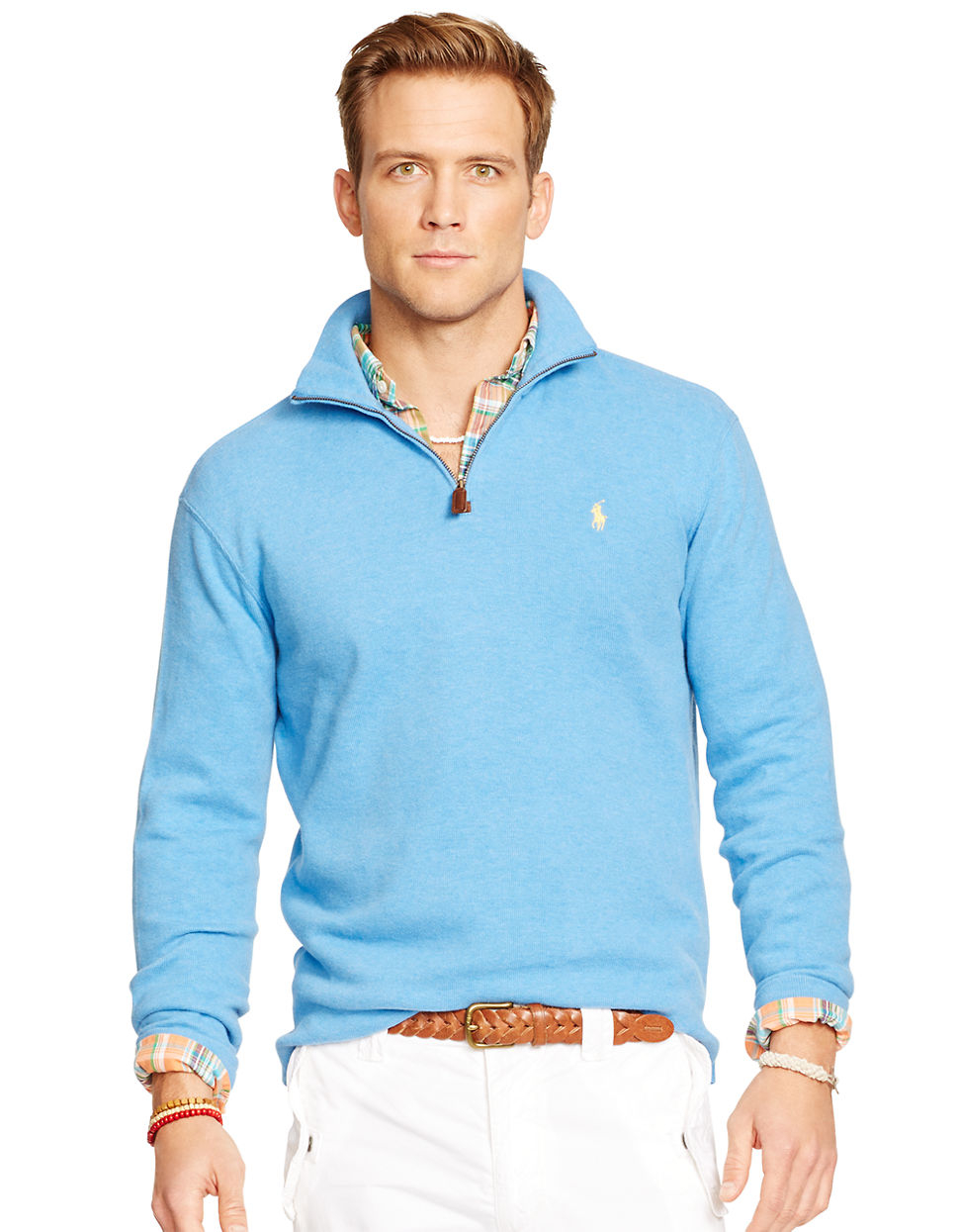 An image relevant to this listing. NEW RALPH LAUREN 1/2 ZIP TOP