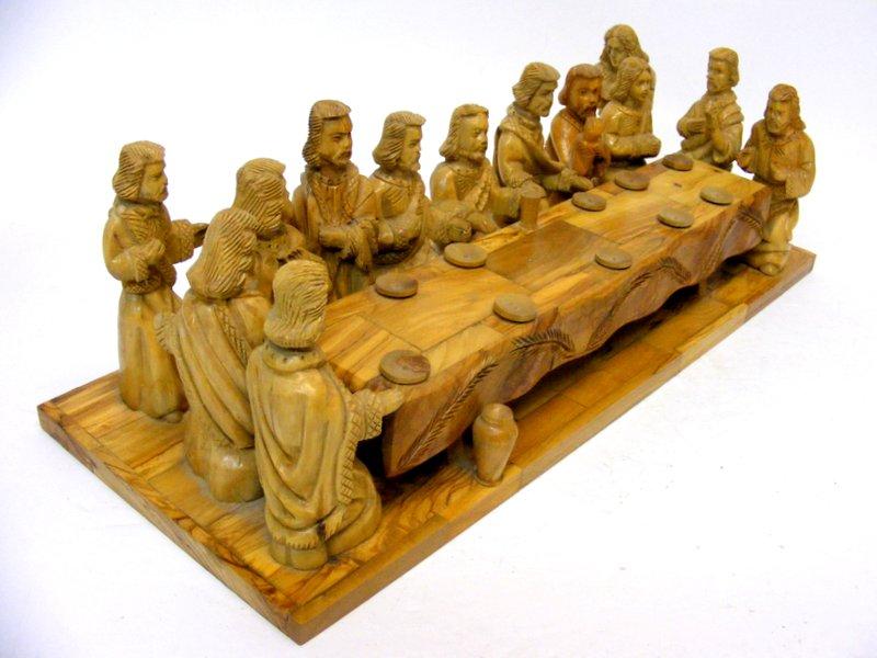 The last supper jesus carvings pema woodcarvings