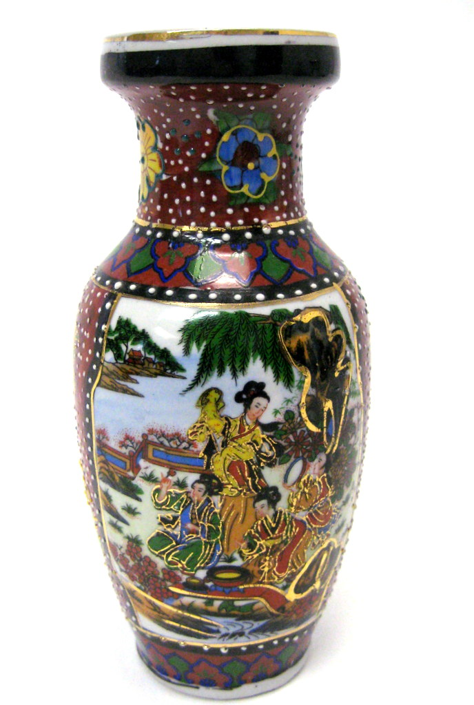 Vintage Satsuma Style Vase Property Room