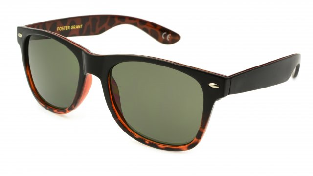 5f1a6ade68 NEW Foster Grant Mystery Man Cougar Pattern Sunglasses