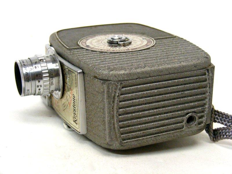 Keystone K-25 Capri Movie Camera   Property Room