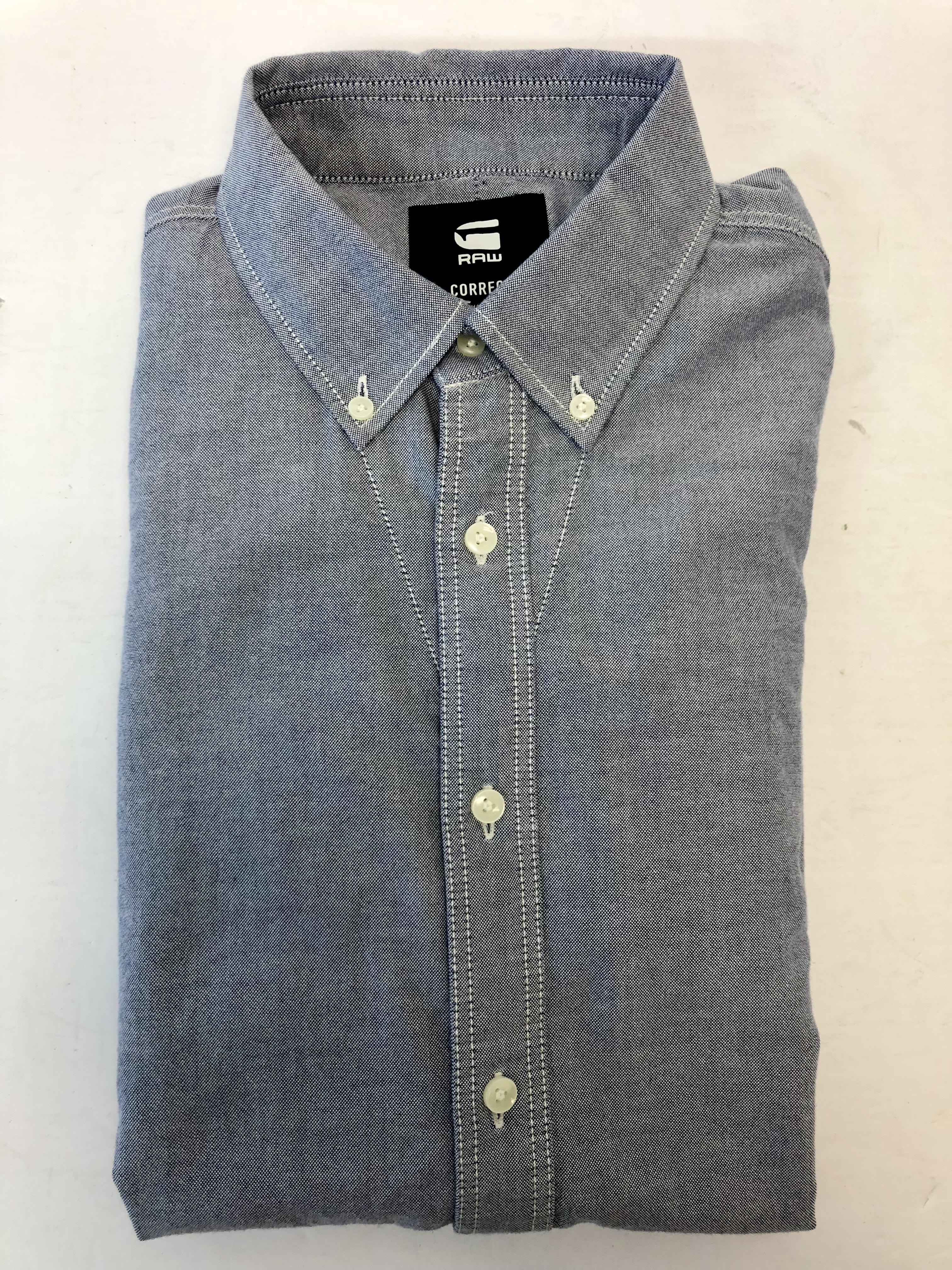 2cdaf82c2a New G-Star Raw Oxford Button Down Men s Long Sleeve Shirt