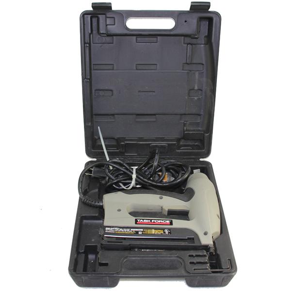 Task Force Electric 5/8 -- 1 1/4 Heavy Duty Brad Nailer Gun ETT3212N ...
