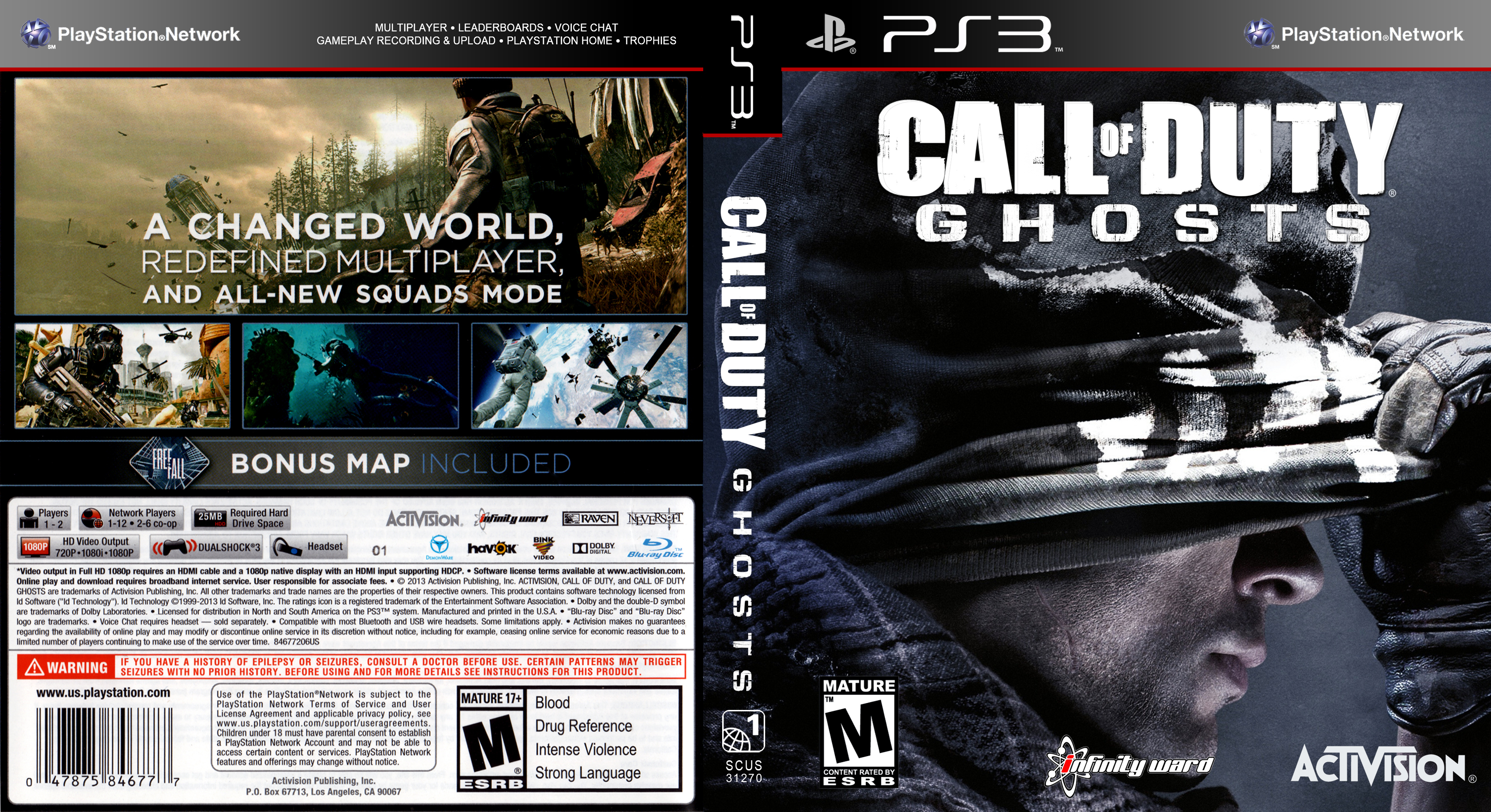 CALL OF DUTY - GHOSTS - PS3 | Property Room